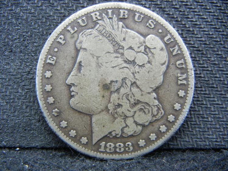 1883-CC Morgan Dollar. A real tough coin to get!