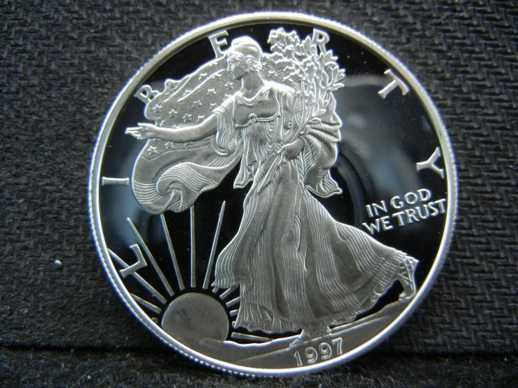 1997 Deep Cameo Proof Silver Eagle.