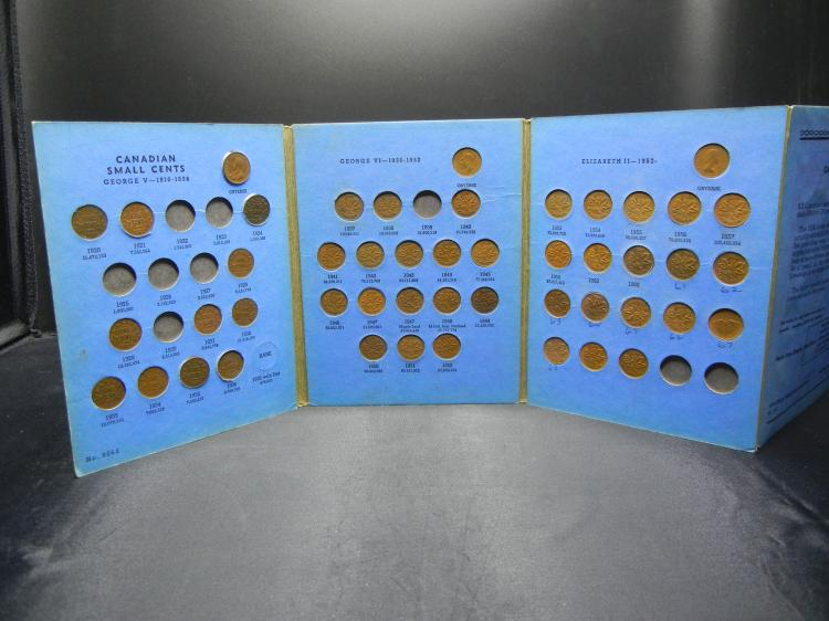 1920-1970 Canada Penny Collection. 48 coins.
