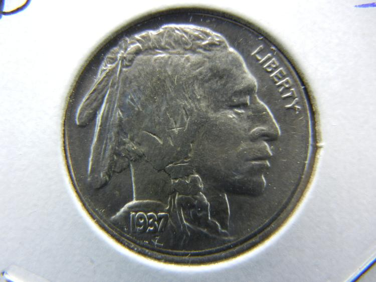 1937-D Buffalo Nickel. MS65. Original Mint Luster.