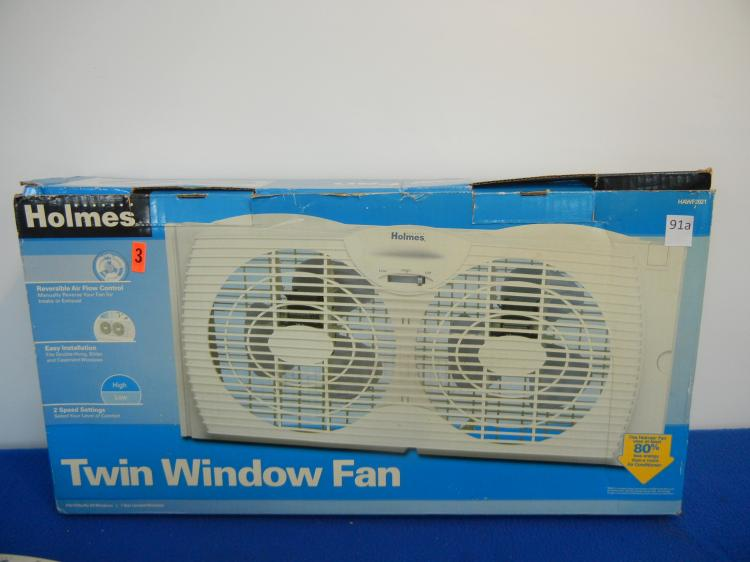 Holmes Window Fan : Holmes twin window fan