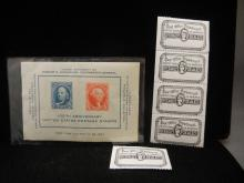 100 Anniversary US Postage Stamps