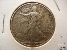 1939-S Walking Liberty Half Dollar