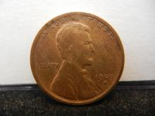 1909-S Lincoln Wheat Cent