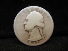 1932-D Key Date Washington Quarter