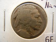 1921-S Buffalo Nickel Restored Date