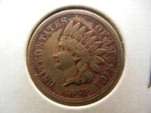 1859 Indian Head Cent Very Fine Details