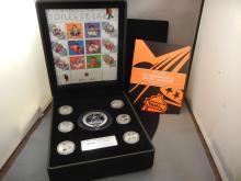 2003 Comm. Stamp and Medallion Set NHL-All Stars