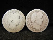 1902 & 1915 Barber Quarters