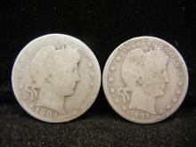 1904 & 1907 Barber Quarters