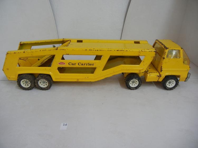 Toys For Trucks Greenville : Vintage tonka toy car carrier missing back ramp