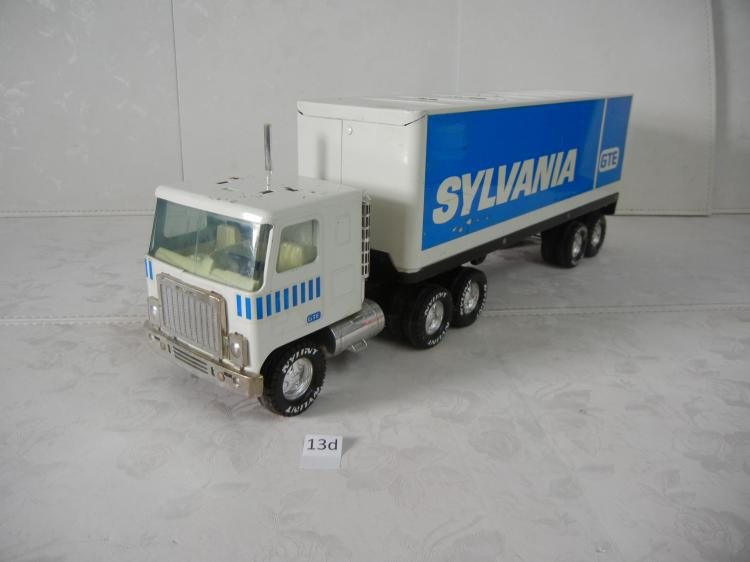 Toys For Trucks Greenville : Sylvania gte semi truck and trailer missing piece on