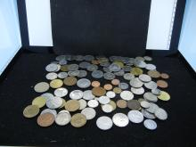 100 World Foreign Coins