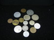 15 Foreign Coins