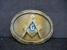 1978 Freemason Belt Buckle