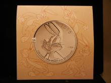 2015 Fine Silver .9999 $20 Bugs Bunny Coin Royal Canadian Mint