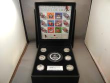 2003 Commemorative Stamp and Medallion Set NHL All - Stars