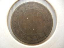 1859 Canadian Large Cent