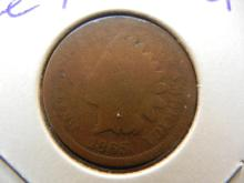1865 Indian Head Cent.  Good with a very nice planchet.  Civil War coin.
