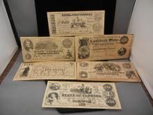 Confederate Currency Antiqued Reproductions