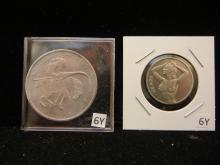 2 Novelty Coins