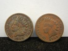 1897 & 1898 Indian Head Cents