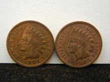 1904 & 1905 Indian Head Cents