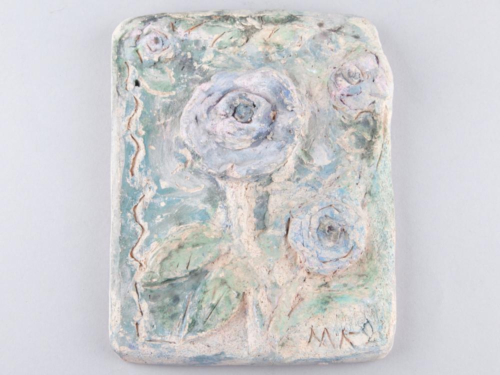 Milja Aarnio   Clay Wall Plaque