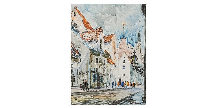 Janis Brekte - 'European Street'