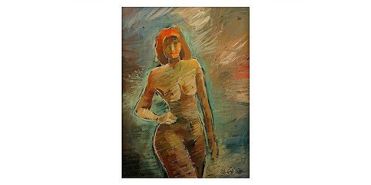 Yaakov Chayat - 'Female Nude'