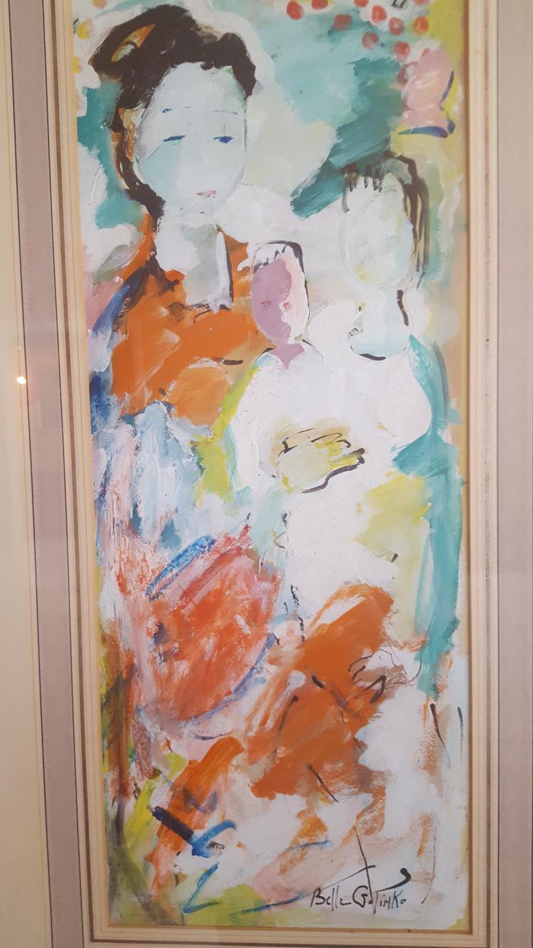 Belle Golinko  (20th century) Abstract Women