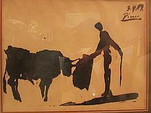 Pablo Picasso- Toros Y Toreros, 1959 Signed Ink