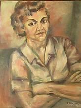 Emilio Rivero Merlin (Cuban 1890-1977)- Portrait Of Cuban Women