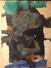 Sam Francis (american painter 1923-1994) Watercolor (32x23.5in.)