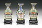 Three (3) Chinese Antique Cloisonne Vases