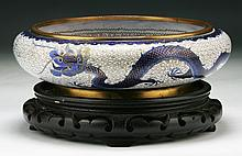A Chinese Cloisonne Bronze Bowl