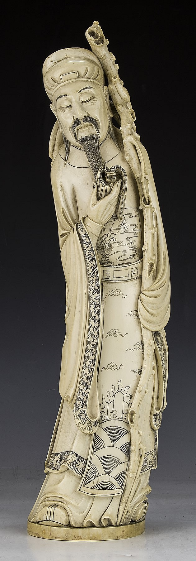 Antique Asian Ivory 108