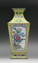 A Chinese Antique Cloisonne Bronze Vase