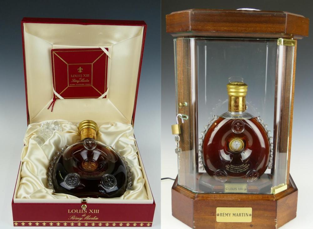 Remy Martin Louis Xiii Cognac Bottle W Curio