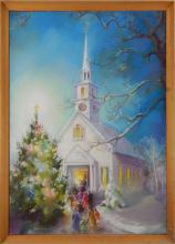 NANA BICKFORD ROLLINS CHRISTMAS EVE SERVICE PASTEL