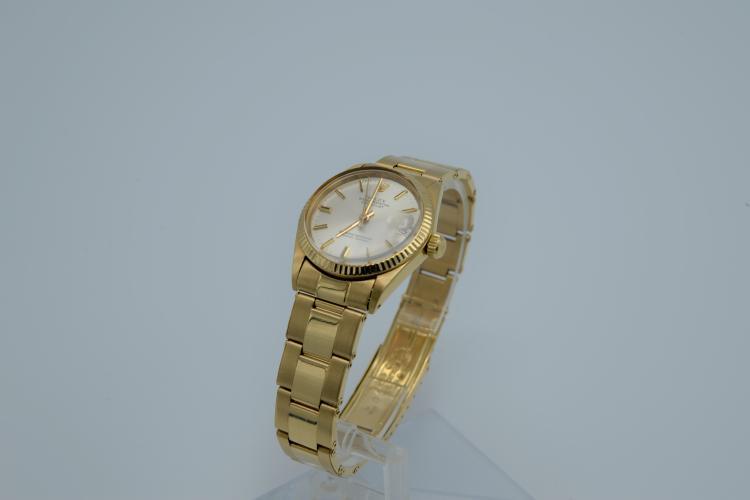 18K Gold Rolex SA 750 Watch