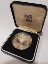 1983 Mozambique 50 Meticais Silver Proof Coin
