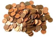100 Lincoln Wheat Pennies - various dates