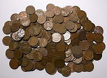200 Lincoln Wheat Pennies - Various Dates