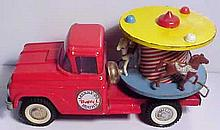 Old Buddy L Merry Go Round Truck