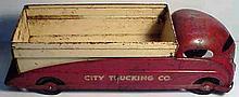 1930s Steelcraft Turner City Trucking Company Dump Truck