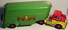 Wyandotte Cargo Lines Motor Fleet Transport Truck and Trailer