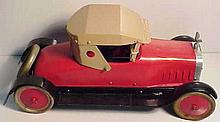 Early Restored Structo Car with Hood Ornament