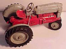 Large Metal Hubley Tractor