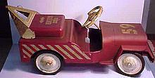 Structo Ride-On Wrecker Jeep